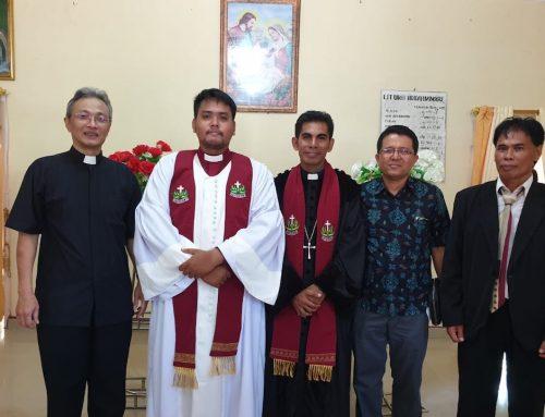 Pentahbisan Pdt. Michael Angga Syahputra Manihuruk, S.Th